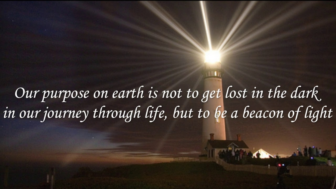 I am a Beacon of Light that Helps Amplify the Light