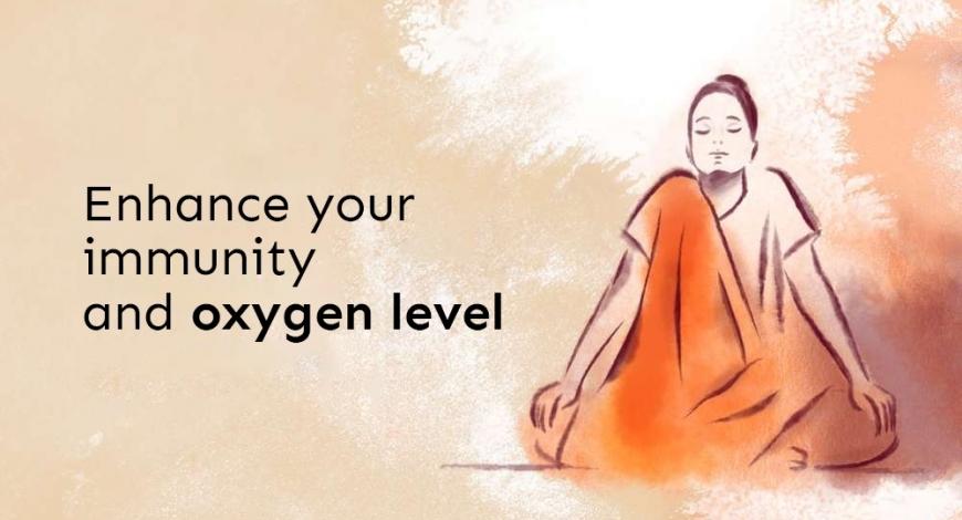 Simple yogic ways to enhance your immunity and oxygen level