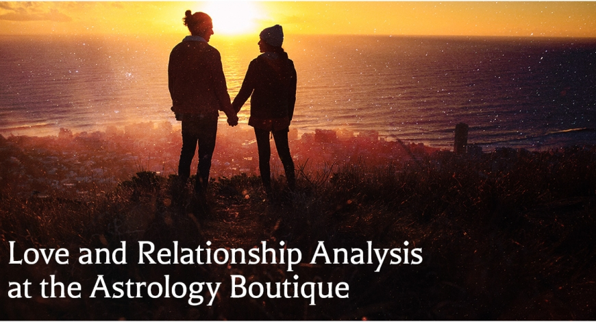 Love and Relationship Analysis at the Astrology Boutique
